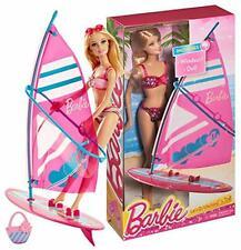 Barbie Let's Go Windsurf! and Barbie Doll - NIB