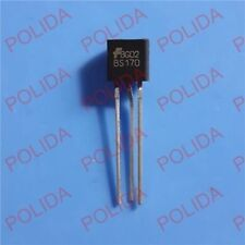 10PCS MOSFET Transistor ON(ONSEMI)/MOTOROLA/FAIRCHILD TO-92 BS170 BS170G