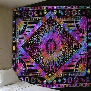 Psychedelic Trippy Hippie Tapestry Wall Hanging Blanket Art Tapestry Home Decor