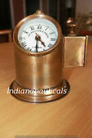 Vintage Brass Binnacle Gambled Compass Boat Nautical Maritime Compass Helmet