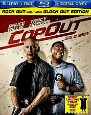BRAND NEW BLU-RAY/DVD/DIGITAL COMBO // Cop Out // BRUCE WILLIS, TRACY MORGAN