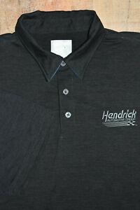 "Rick Hendrick Automotive Group OOBE ""Dri Fit Style"" Polo Men Golf Shirt Gray XL"