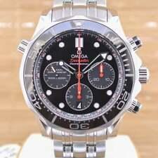 OMEGA SEAMASTER Diver Cronografo 212.30.44.50.01.001 - MAI INDOSSATA W / BOX & Papers