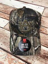 Auburn University Tigers AU Camo War Eagle UA Men's OSFM Baseball Hat Cap NEW