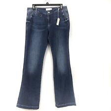 Nordstrom USA 1921 Womens Jeans Maya Flare LS176-BLG Size 30