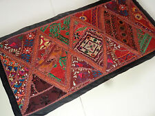 Wall Tapestry Bohemian Hand Patchwork Table Runner Decor Vintage Hanging W65