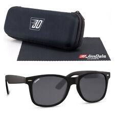 Jim Dale Sonnenbrille Vintage Retro UV400 Schwarz getönt Markenbrille Unisex