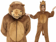 Camel Kids Fancy Dress Nativity Christmas Desert Animal Childrens Costume 4-9