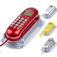 Corded Telephone Caller ID Home Office Desktop Wall Mount Landline Handset Phone