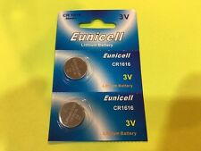 x2 NEW CR1616 CR1616 DL1616 BR1616 3 Volt Lithium Button Cell Battery US Ship