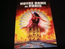 NOTRE DAME de PARIS<>MUSICAL  PROGRAM<>RARE ITEM°1998°1ST. ÉDITION