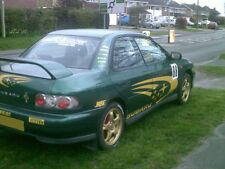 Subaru Impreza Sport  2001 Green Bonnet From A Breaking Car ALL PARTS AVAILABLE