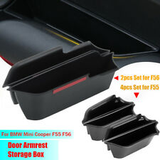 For BMW MINI Cooper F55/F56 Door Handle Storage Box Cup Armrest Phone Container