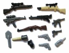 Brickforge WWII WEAPONS PACK for Lego Minifigures - 13 pcs to build your Army!