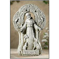 "12.5"" Saint Francis Treace of Peace Garden Outdoor Figurine"