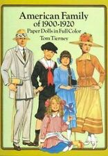 American Family of 1900-1920 Paper Dolls in Full Color, Tierney, Tom, Good Book