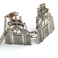 Beautiful Hogwarts Castle Alloy Pendant Necklace But Fold Open Gifts