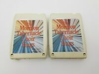 The Mormon Tabernacle Choir Sings 8 Track Tapes Set of 2 Reader's Digest 2 & 3