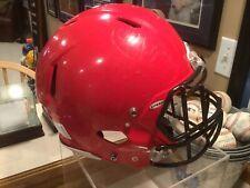 New listing riddell speed Football Helmet adult large-Scarlet Red