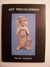 Art Précolombien - Catalogue-Expo - Palais Galliera à Paris , le 29 mars 1974