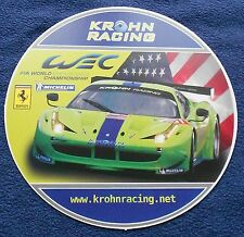 Ferrari 458 Krohn Racing Le Mans Presskit no prospekt brochure buch book