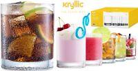 Acrylic Highball  Drinking Glasses Cups Plastic Tumblers 14 OZ Set of 6 BPA Free
