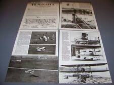 VINTAGE..WRIGHT FLYER  ..HISTORY/PHOTOS/VARIANTS...RARE! (439G)