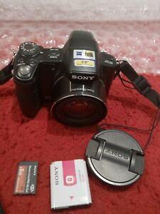 Sony Cyber-Shot DSC-H50 9.1MP 15x Digital Camera - Black