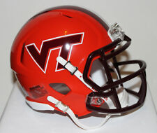 2011 Virginia Tech Hokies Orange Bowl Custom Riddell Mini Helmet