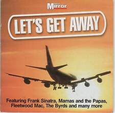 LET'S GET AWAY - PROMO CD: TOTO, BYRDS, FLEETWOOD MAC, SPANDAU BALLET, 10CC ETC