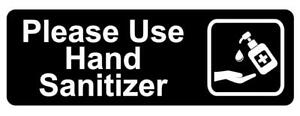 Please Wash Your Hands Sanitizer Sign Plaque Outdoor Rated Clean Sanitiser
