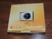 Open Box - Canon PowerShot A2200 14.1 MP Camera - BLACK - 013803132618