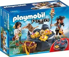 Playmobil Pirates 6683 Piraten-Schatzversteck Spielzeug Set