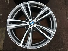 "GENUINE BMW 3 & 4 SERIES 19"" 442 M SPORT DOUBLE SPOKE ALLOY WHEEL ONLY 8.5J REAR"