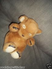 CREATIVE CONCEPTS UNLIMITED PLUSH DOLL FIGURE SLEEPING  BEAR EYES CLOSED TOY