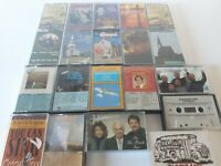Lot Of 20 Gospel Religious Christian Church Music Cassette Tapes #3