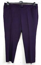 Markenlose Damenhosen mit mittlerer Bundhöhe aus Polyester