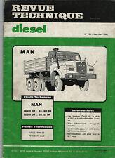 REVUE TECHNIQUE Diesel MAN séries 26.281 32.240 32.281 32.321 DH RTD camion