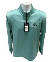 Callaway Weather Series Thermal 1/4 Zip Golf Pullover Opti-Dri UPF 50 Mens L NWT