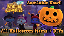 Animal Crossing New Horizons Halloween Pumpkins Update All Items AVAILABLE NOW