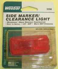 Wesbar 3396 Side Marker Light Module Only Red 2578