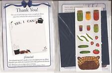 CREATIVE MEMORIES Canning Fruit Preserving Food Vegetables TTY Kit Scrapbooking