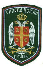 YUGOSLAVIA / SERBIA - BALCAN WAR ERA - SERB ARMY OF KRAJINA REGULAR SLEEVE PATCH