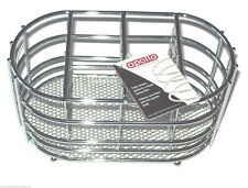 Oval Chrome Kitchen Cutlery Drainer Caddy Sink Tidy Holder