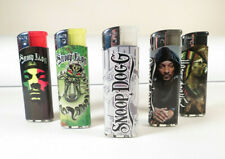 *New* 5 pcs Refillable Lighters Snoop Dog *Free US Shipping*