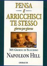 LIBRO PENSA E ARRICCHISCI TE STESSO GIORNO PER GIORNO - NAPOLEON HILL