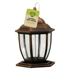ChapelWood Lantern Wild Bird Seed Feeder - Copper Colour