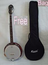 Free Gig Bag, 5 String Banjo, Remo Head, New