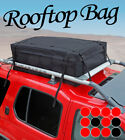 Waterproof Roof Top Cargo Bag 15cu Ft Rooftop Storage Carrier Rain Resistant