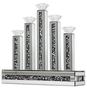Diamond Crystal 5 Tier Luxury Candle Holder